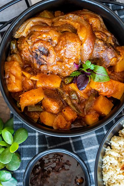 Tasty Pork Shank Stew
